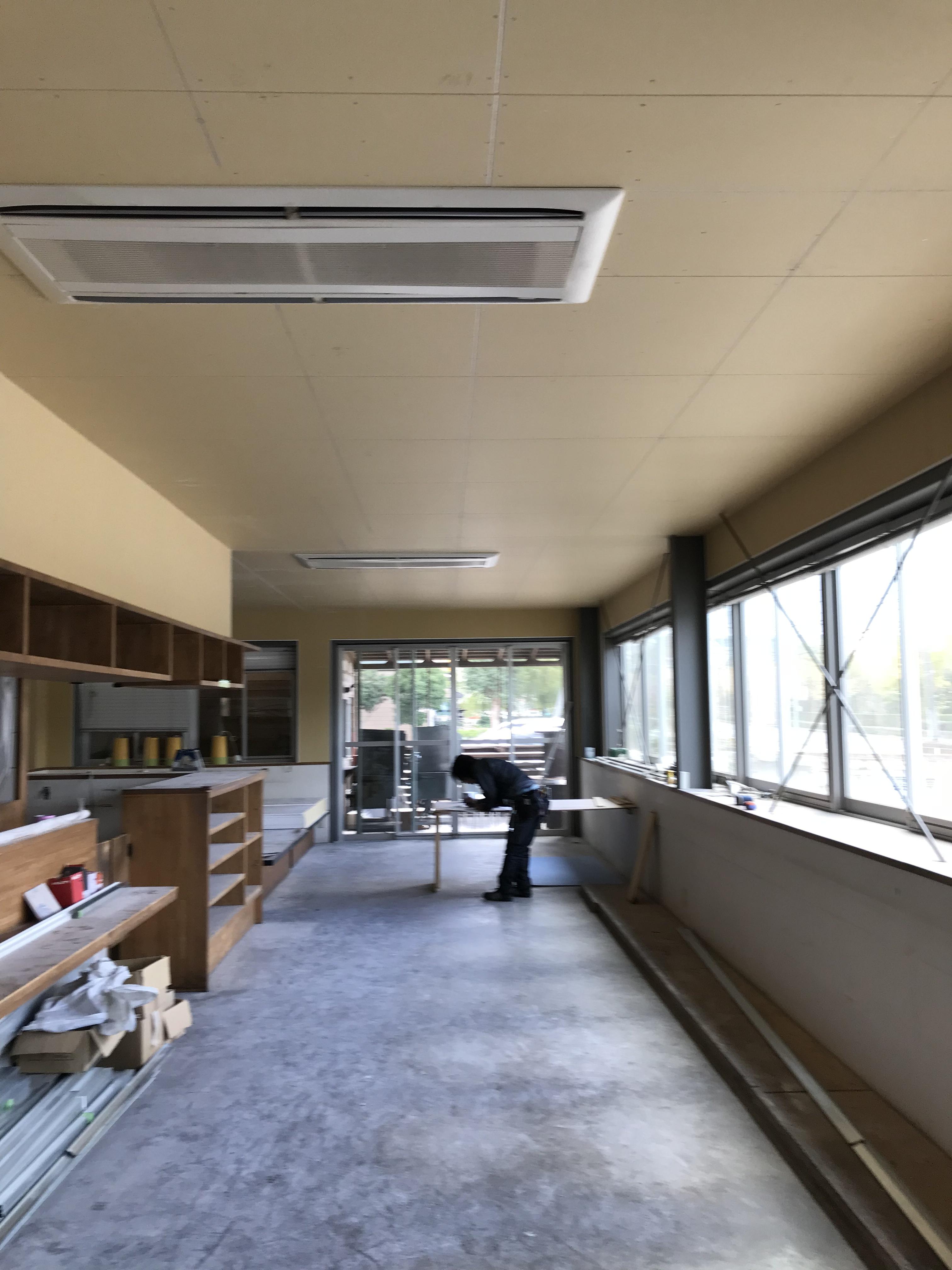 松江 リフォーム 店舗 改装 内装工事