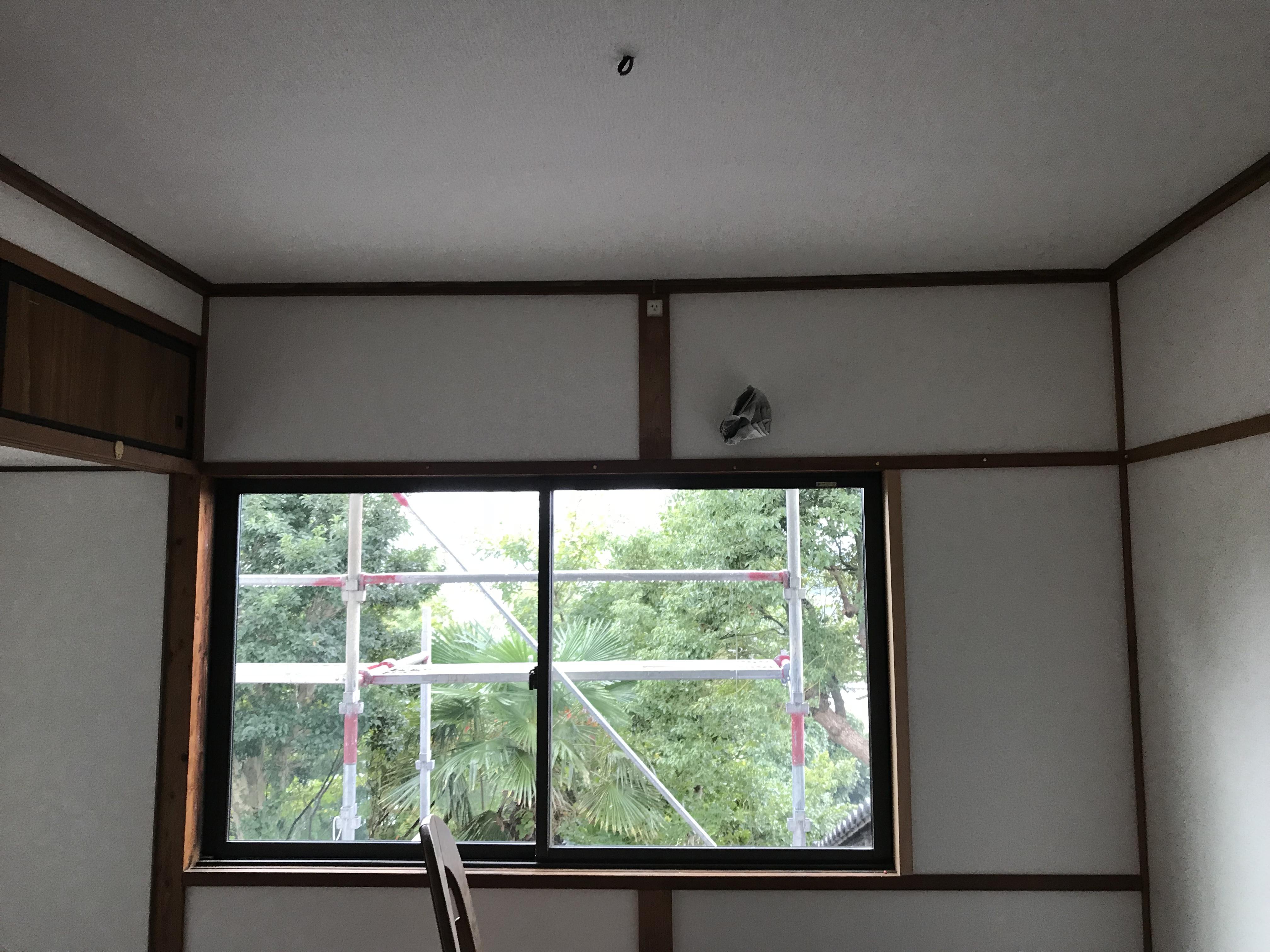 松江 クロス貼替 壁紙貼替