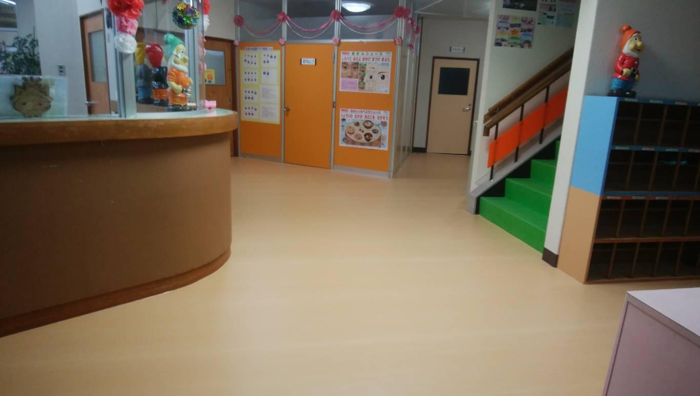 松江リフォームクロスマン 床張替え内装工事