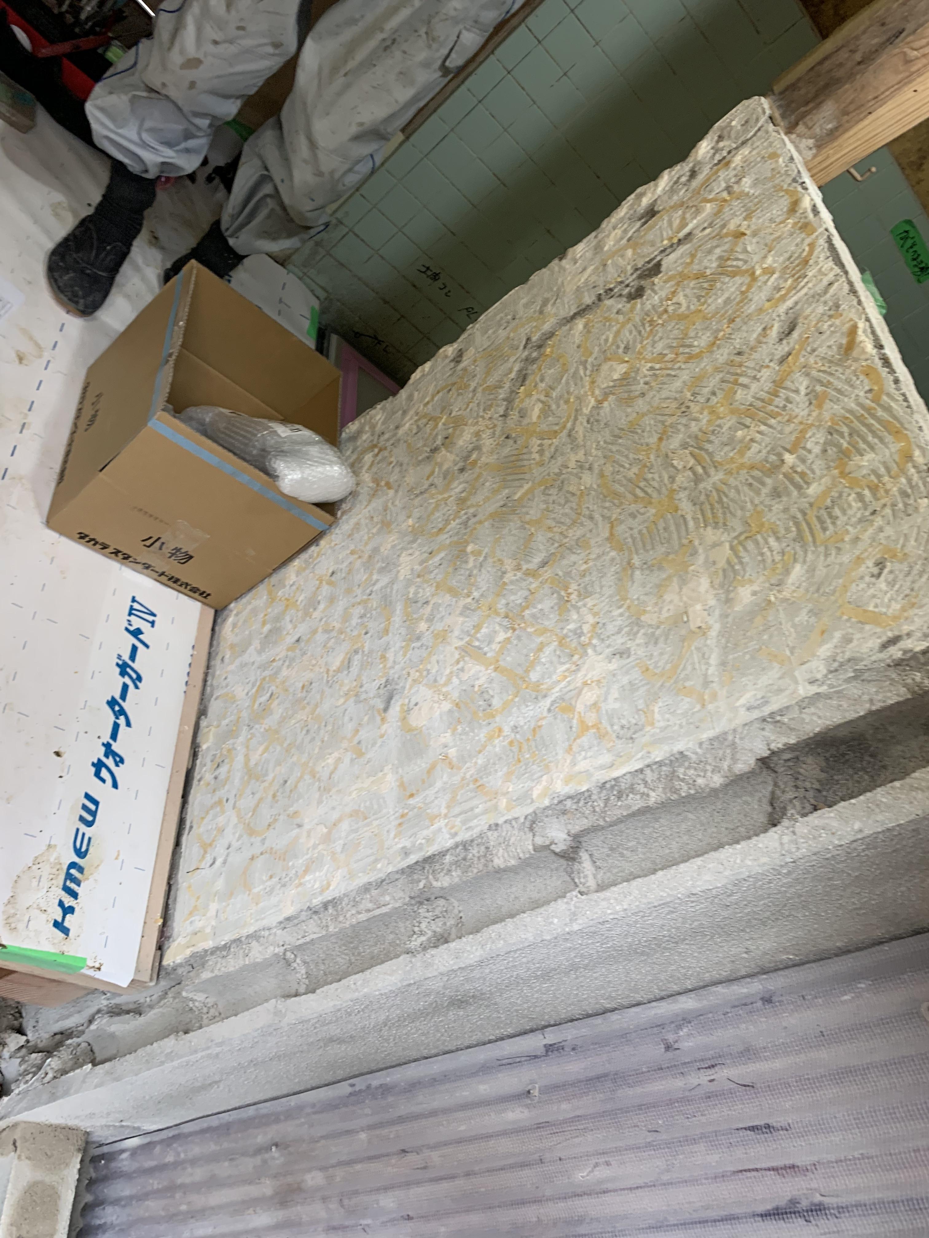 松江 リフォーム専門店【クロスマン】の浴室解体