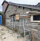 島根県松江市(外壁リフォーム工事)ビフォー事例